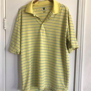 Nike men's golf polo shirt